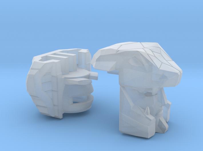 Naja Gunship Head Combiner Version 3d printed