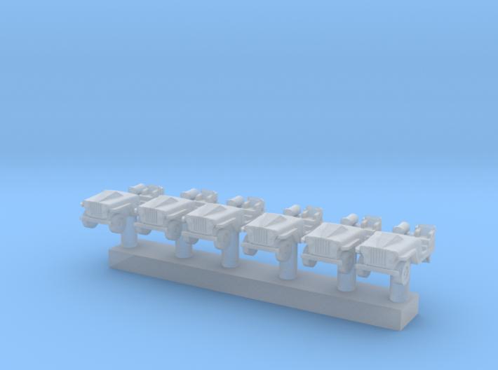 1:400 Scale NC-1A APUs 6x 3d printed