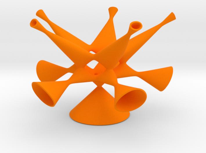 Togliatti Quintic, smoothed 3d printed