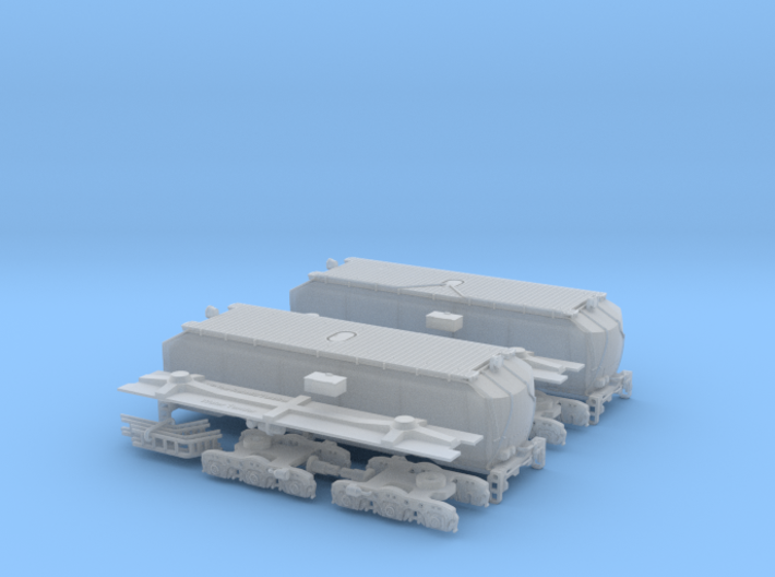 UP Water Tender Pre Rebuild (Ex Turbine) Type 1&2 3d printed