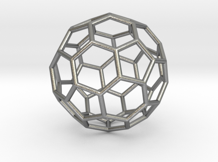 0624 Fullerene c60-ih - Model for the BFI (Bulk) 3d printed