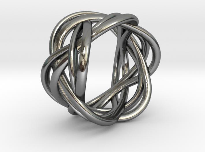 Ring of Streams 3d printed