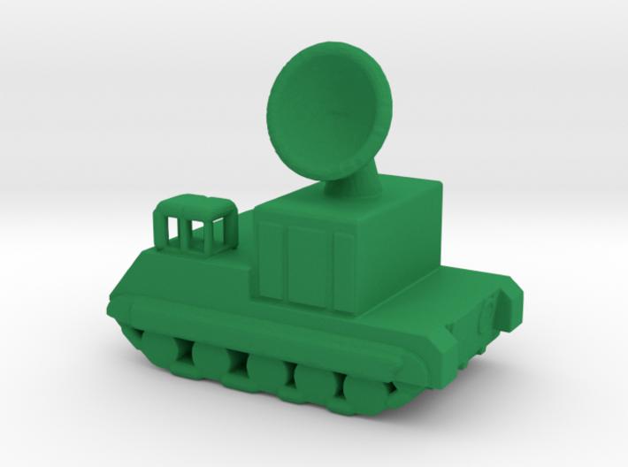 1/285 Scale M474 Radar Pershing 1 3d printed
