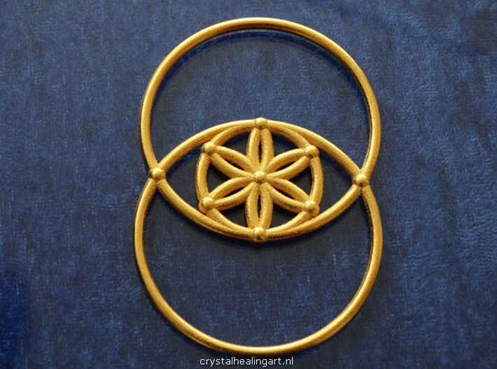 Vesica Piscis - Flower of life 3d printed