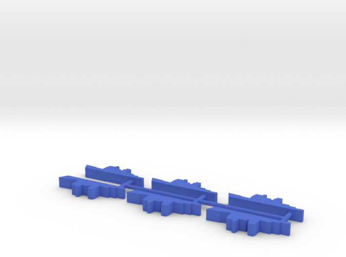 Custom Order, 6-set Blue Force Cruiser, 5mm 3d printed