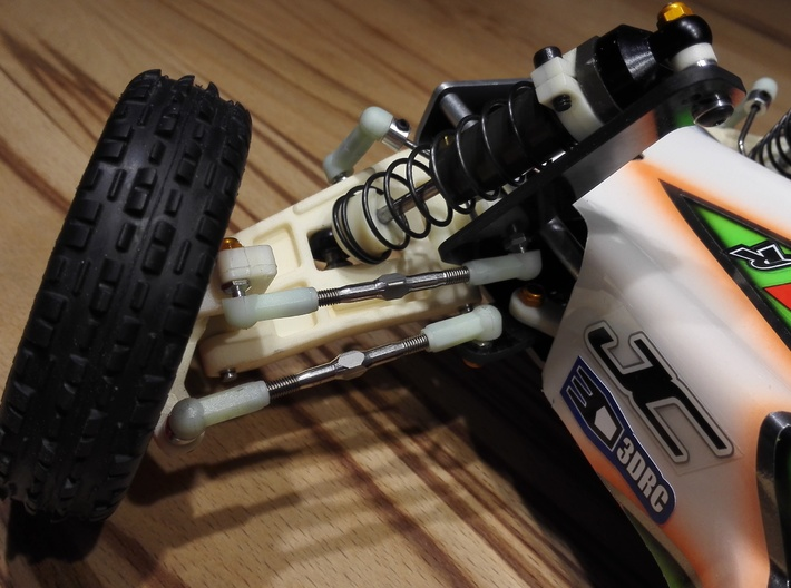 RC10 A-ARM FRONT LWB-001 3d printed