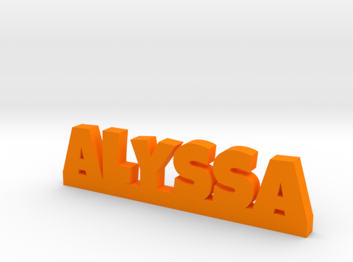 ALYSSA Lucky 3d printed