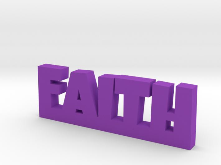 FAITH Lucky 3d printed