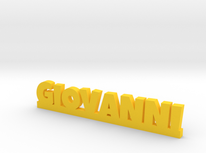 GIOVANNI Lucky 3d printed