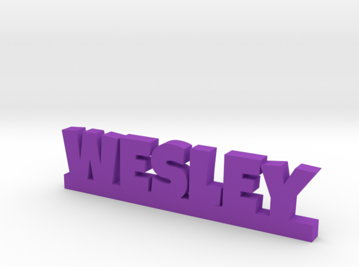 WESLEY Lucky 3d printed
