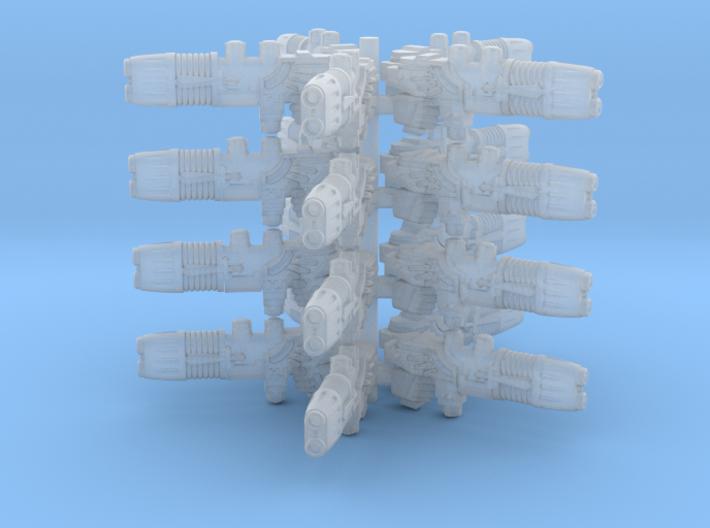 Plasma Repeating Shotgun Sprue X20 3d printed