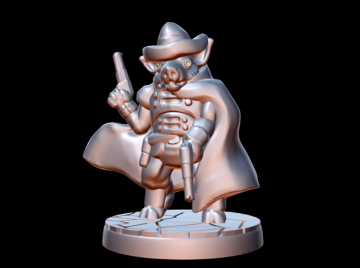 Sand, Pigman Gunslinger (15mm/1:100 scale) 3d printed