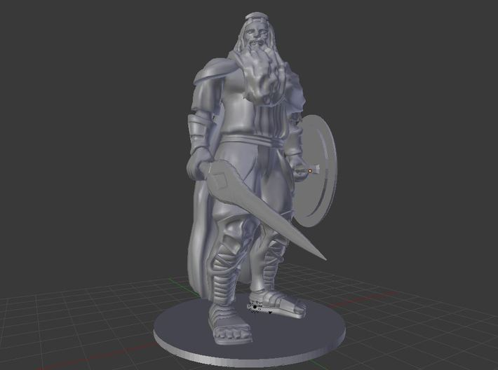 King Hekaton 3d printed
