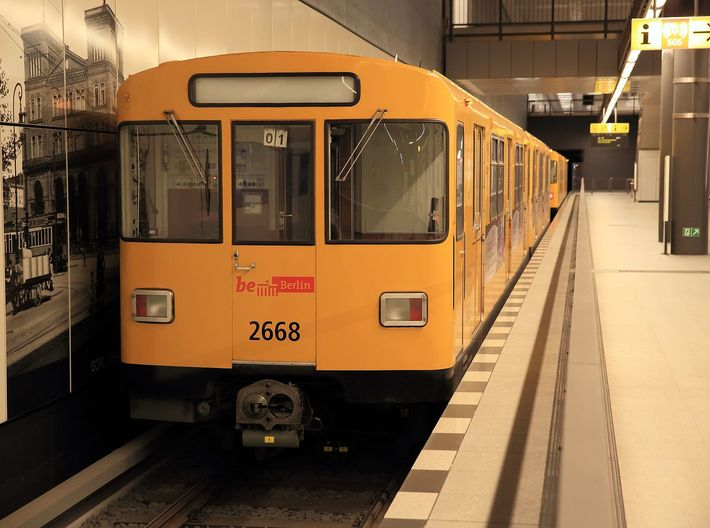 Berlin Baureihe F79 N [2x body] 3d printed Photo of BVG F