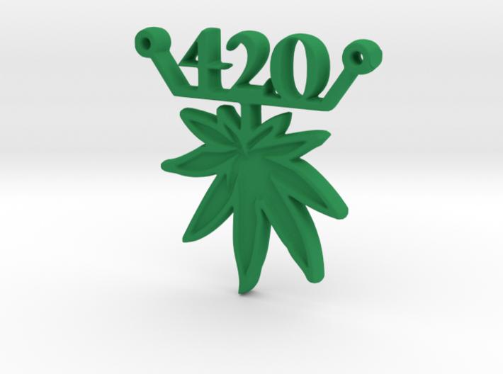 420 leaf d 3d printed