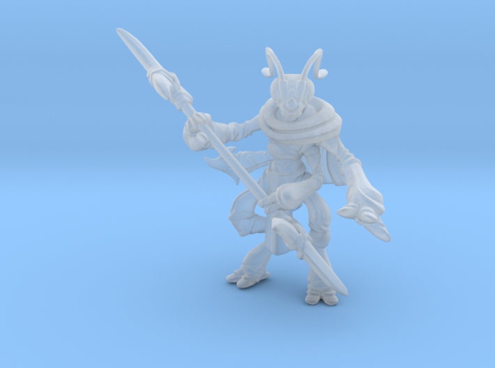 Thrikreen Soldier 3d printed