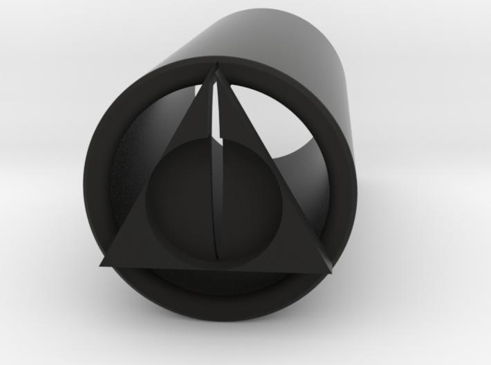 Deathly Hallows Blade Plug 3d printed