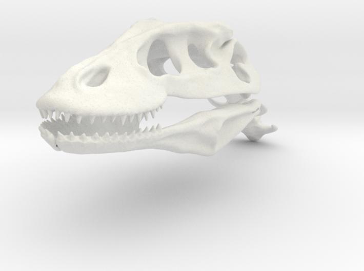 Komodo Craneus and Neck Skeleton 1:5 Scale 3d printed