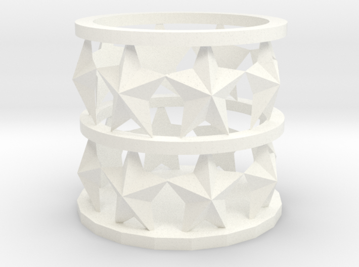 star candle Holder 3d printed