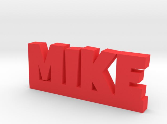 MIKE Lucky 3d printed