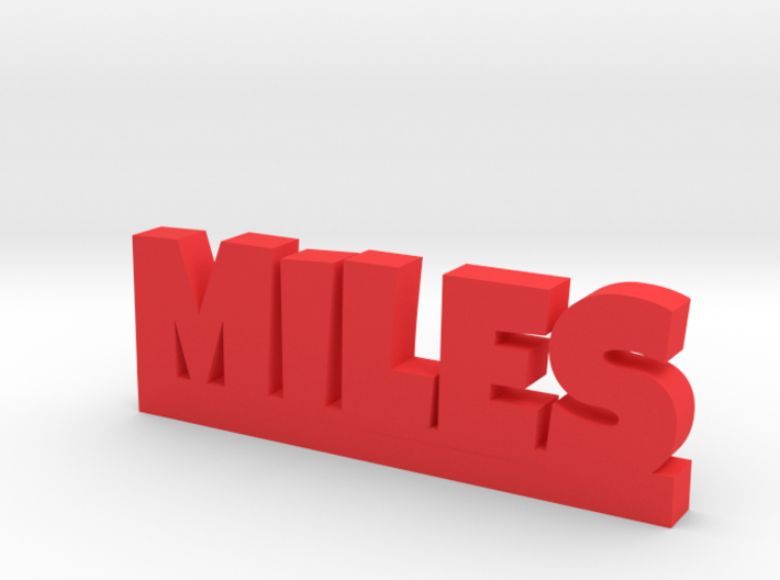 MILES Lucky 3d printed