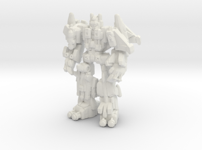 Superion (CW), Broadside Scaled 3d printed