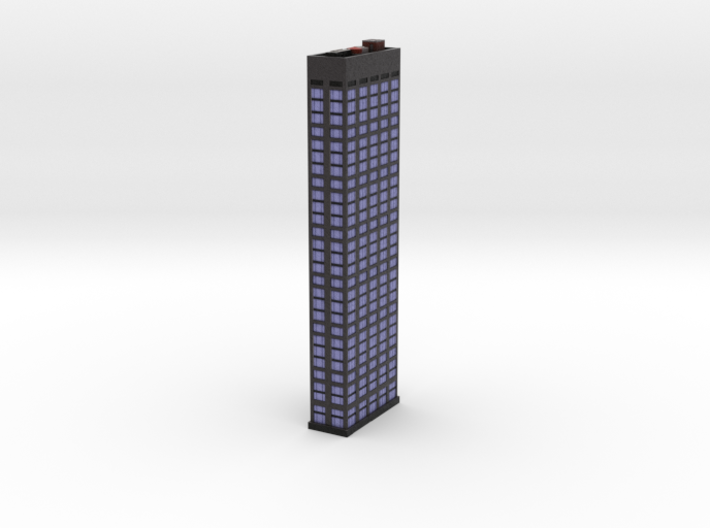 Office tower 3x1 3d printed