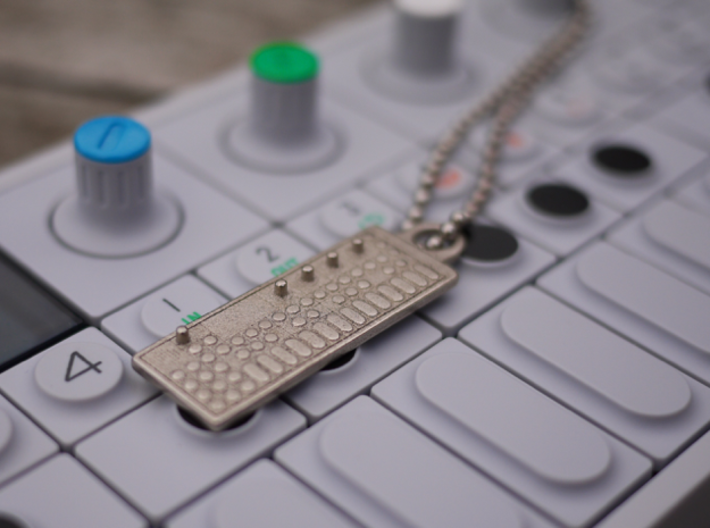 OP-1 Keychain / Pendant 3d printed