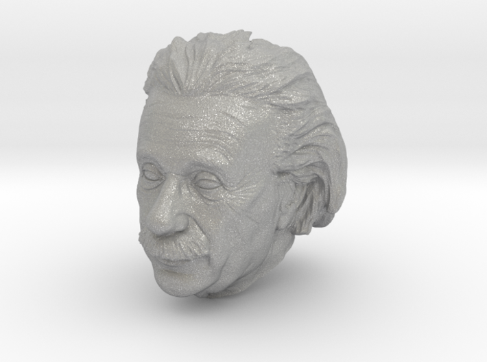 Einstein Lanyard Bead Various Sizes 3d printed