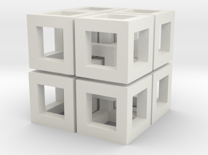Impossible Cubes 3d printed