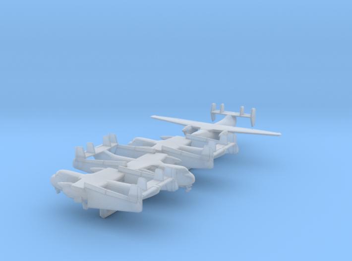 1/600 C-2 w/Gear x4 (FUD) 3d printed