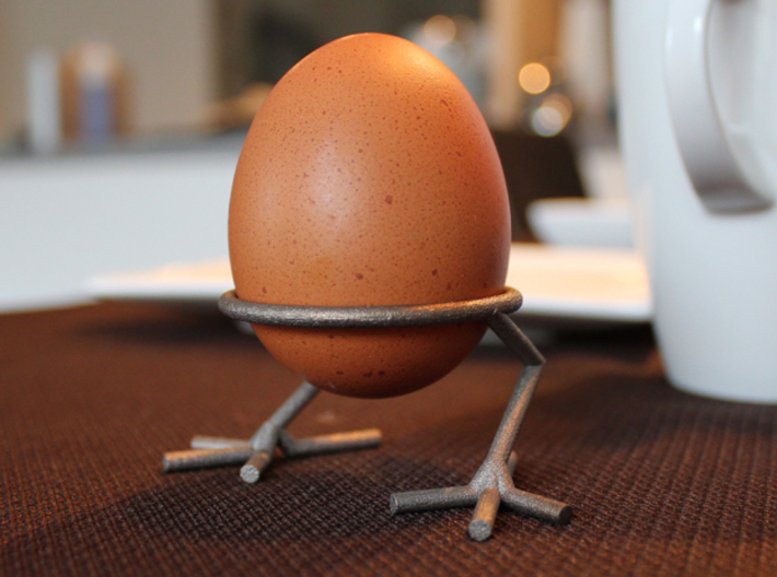 Chick Eggcup 3d printed Eat me!