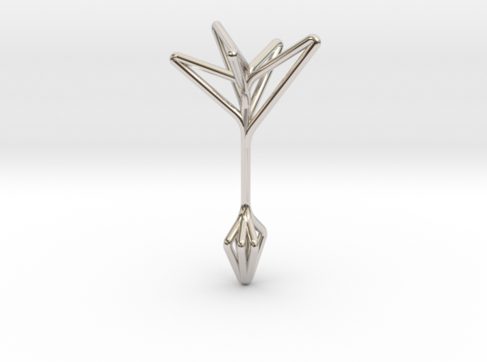 Little Tree N5 ,Fine Pendant. Pure Elegance 3d printed