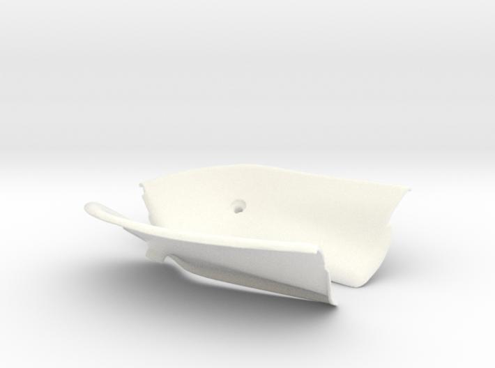 Lancia Delta Abdeckung Heckklappe Boot Plate Set 1 3d printed