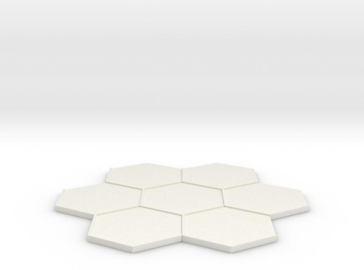 Beauty Base 7-Tile 3d printed