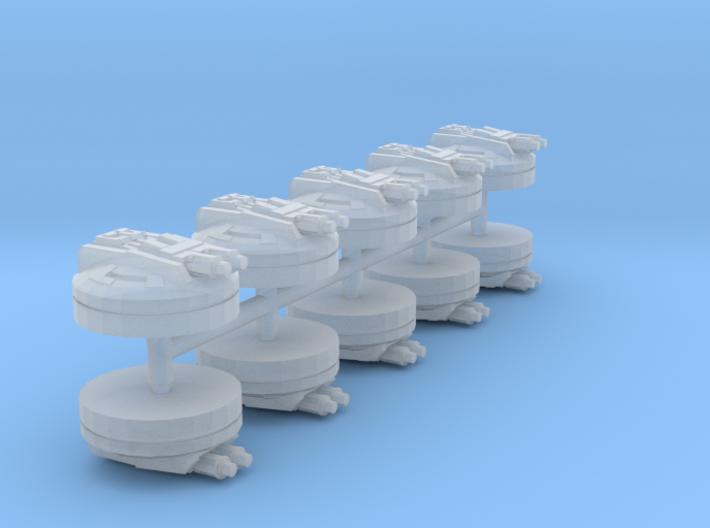 Ion Turrets (armada) 3d printed