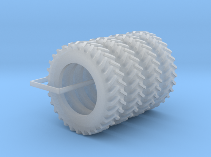 1/64 Scale 18.4R42 Tires Qty: 4 3d printed