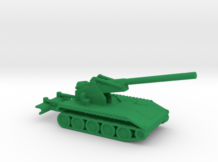 1/200 Scale M110A1 8 Inch Howitzer 3d printed