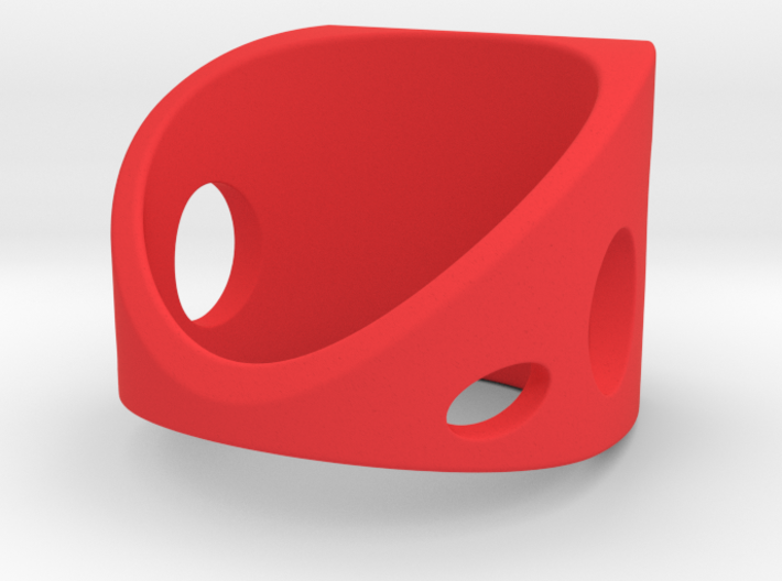 Sail Ring Pl 3d printed