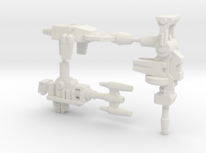 Insecticon Weapon 3-Pack. 5mm 3d printed
