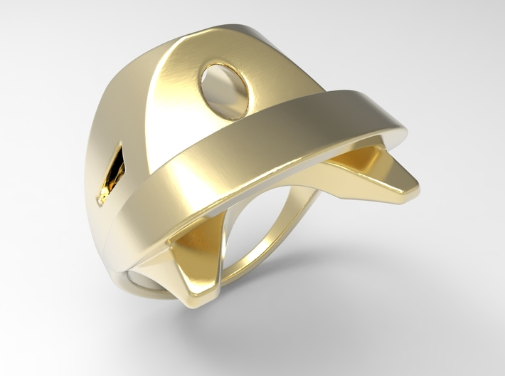 Wind Ring G 3d printed