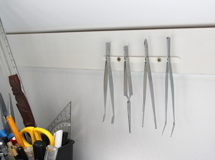 Tweezer pegs 3d printed