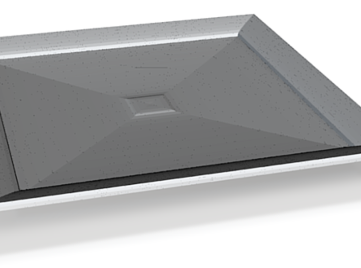 nero tray square 3d printed