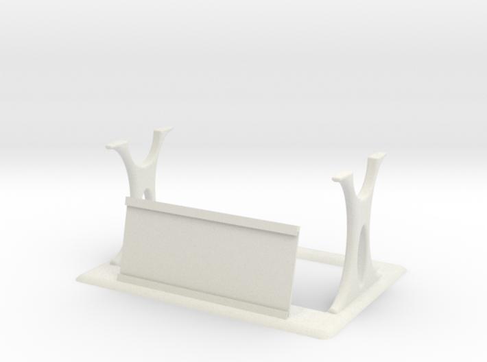 Original Lightsaber Stand w/ Plaque Holder 3d printed