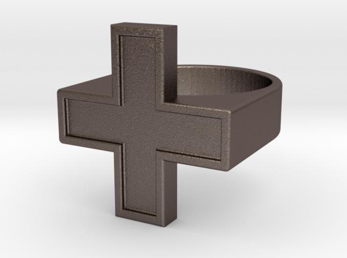 Plus Ring V2 3d printed