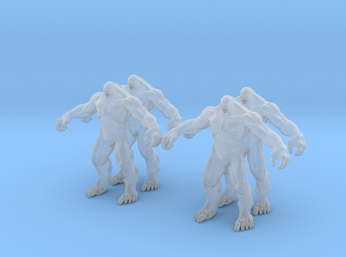 Abomination marvel (x4) 3d printed