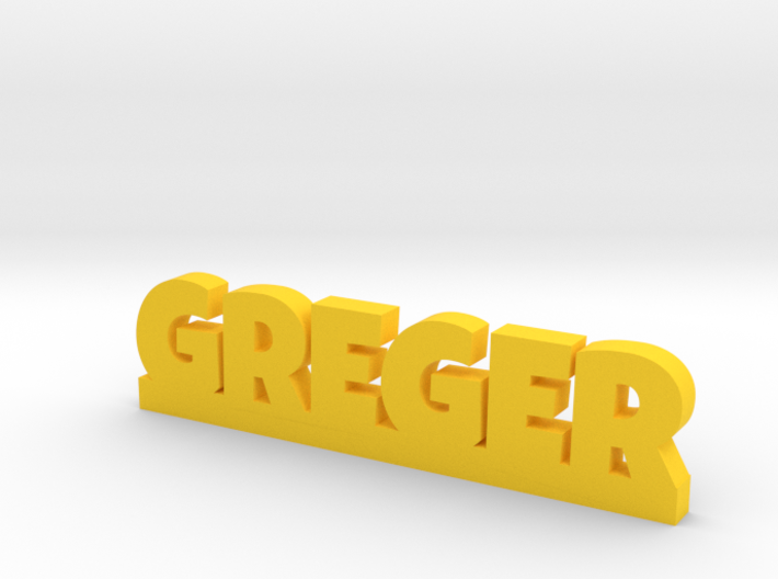 GREGER Lucky 3d printed
