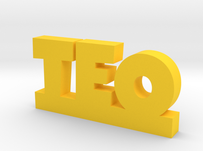 TEO Lucky 3d printed