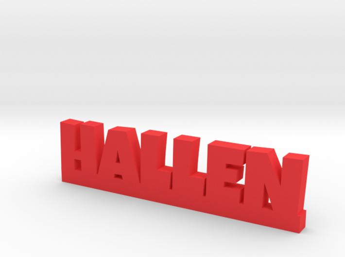 HALLEN Lucky 3d printed