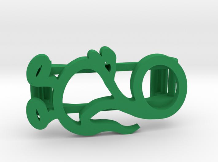 Dinosaur Clip for Fitbit Flex2 3d printed